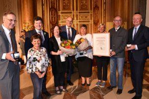 Auszeichnung der Stadt Augsburg