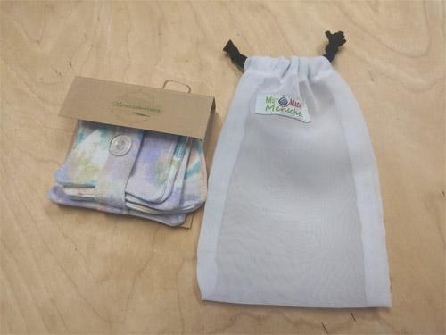 Abschminkpads mit Waschsack